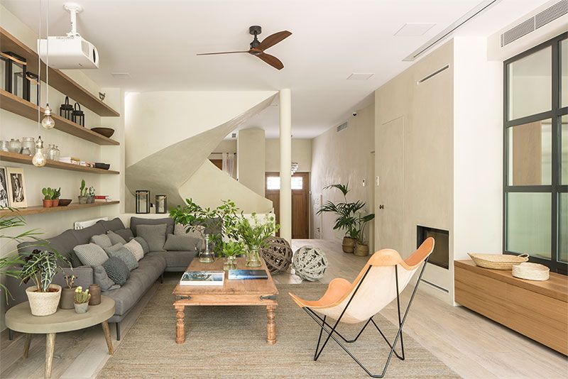 Modern House With Tropical Garden In Barcelona Photos Ideas Design Small Apartment Furniture Room Home