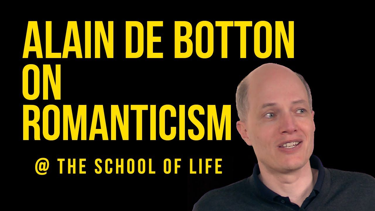 The Truth About Love Relationships Alain De Botton On