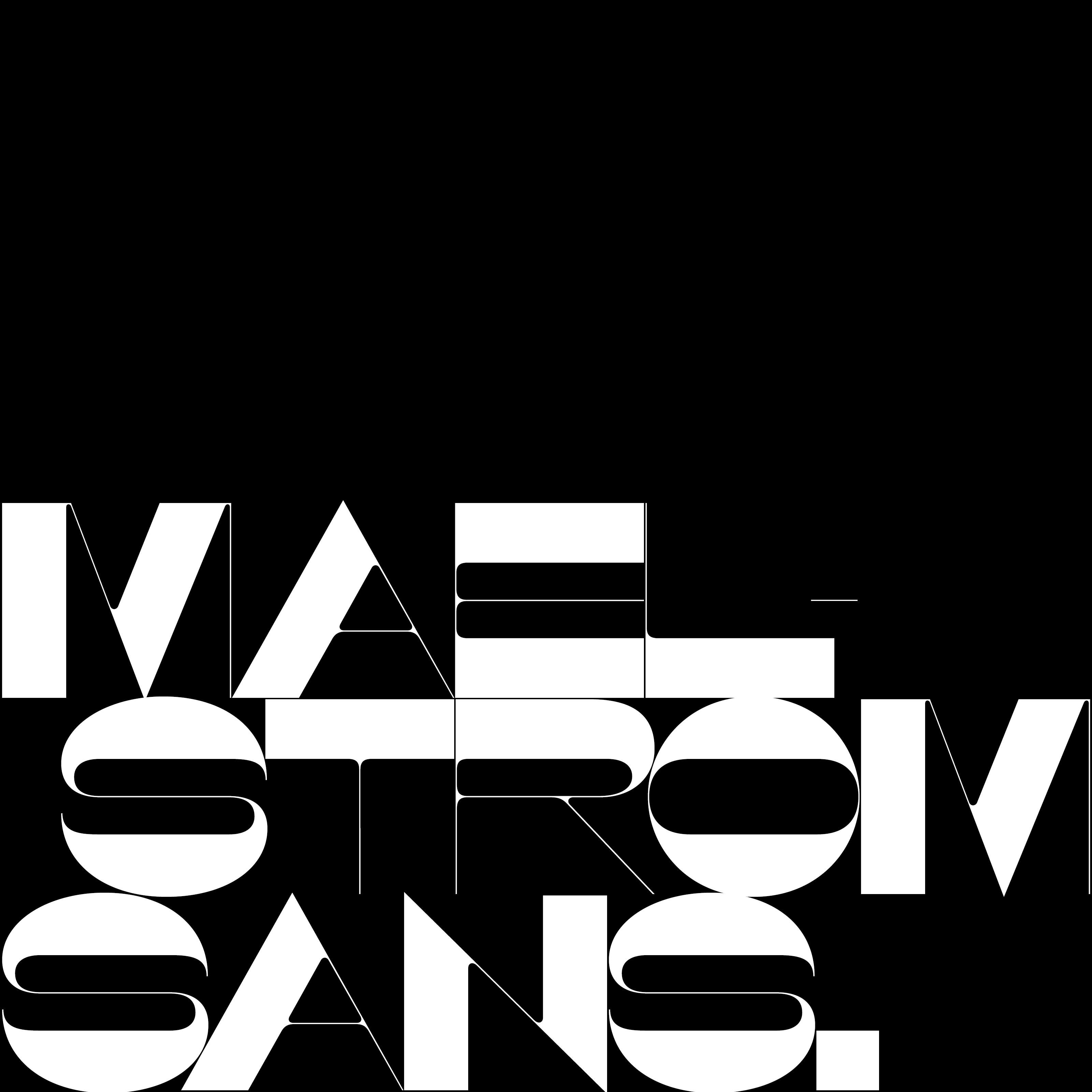 Maelstrom Design Information · Klim Type Foundry   Font