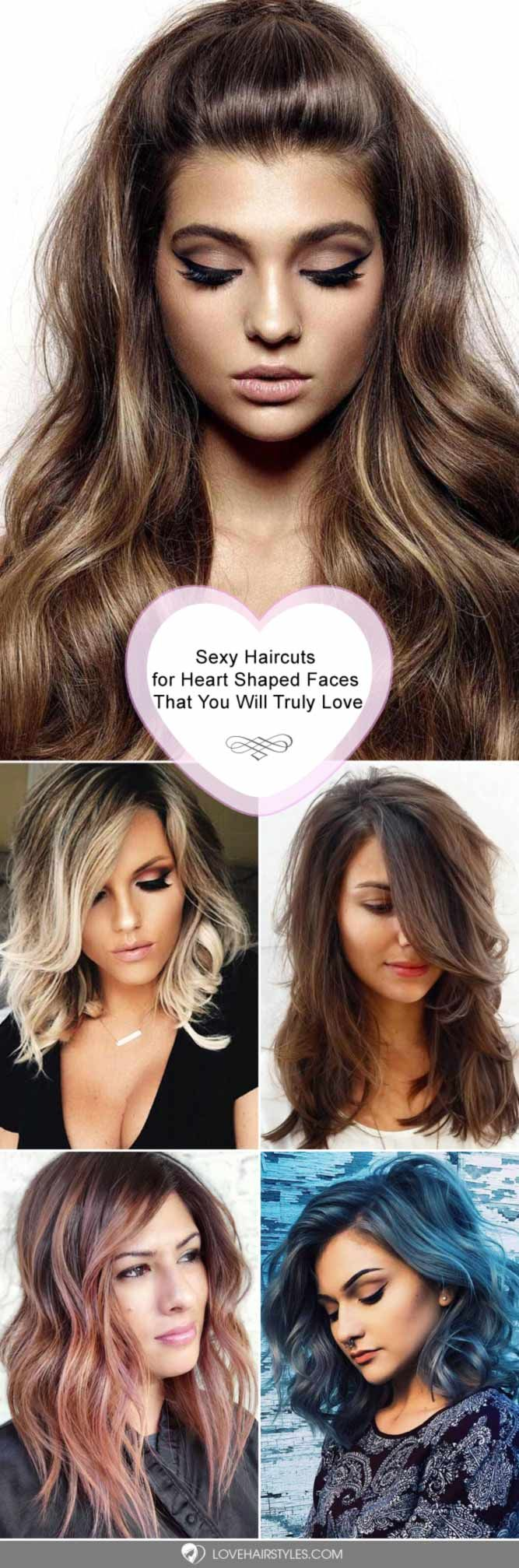 10 Gorgeous Haircuts For Heart Shaped Faces Hair N Make Up