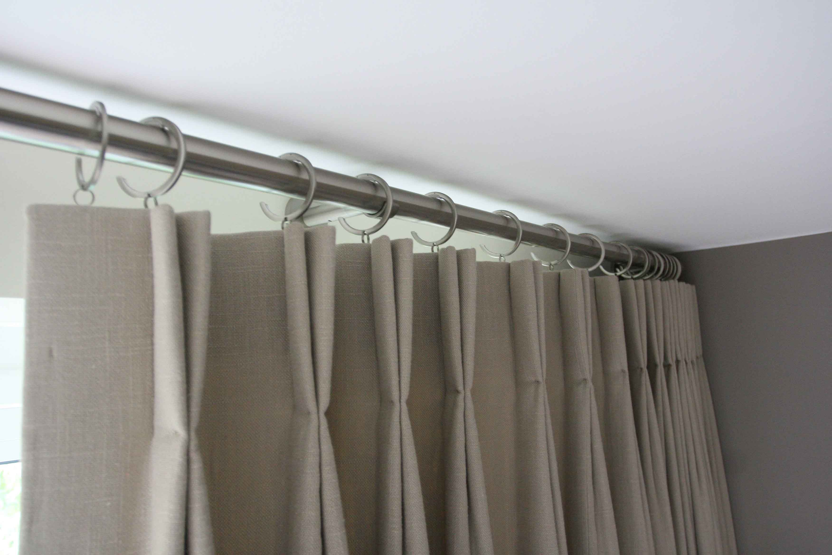 Pinch Pleat Drapes: Double Pinch Pleats Are A Little More Contemporary Than