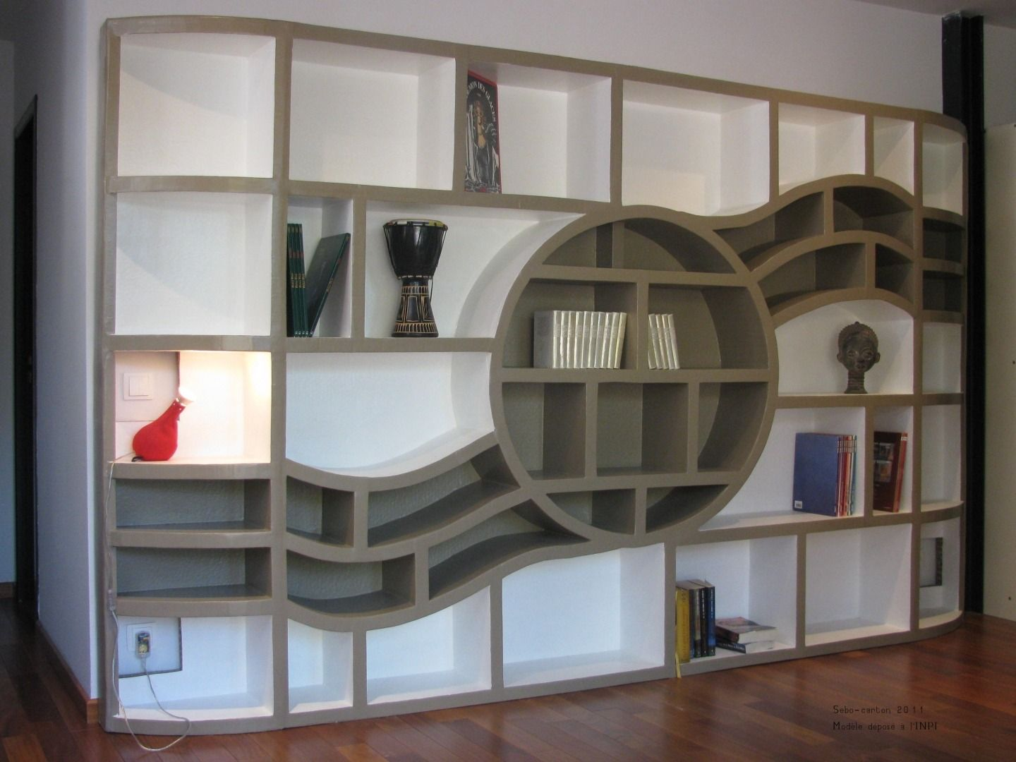 Biblioth Que Design Meubles Et Rangements Par Be The Light  # Meuble Bibliotheque Design