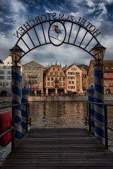 Panoramio - Photo of Blick vom Hotel zum Storchen