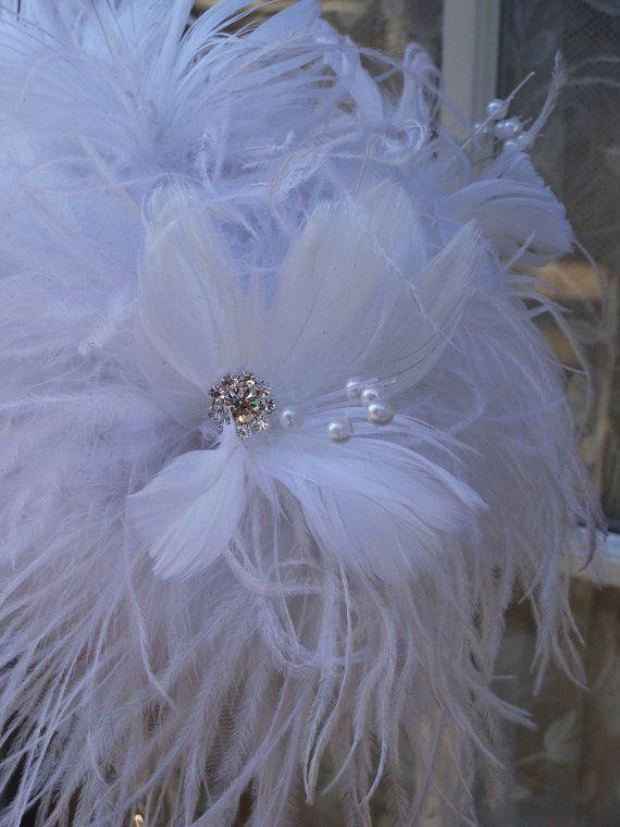 Ostrich Feather Centerpiece.....