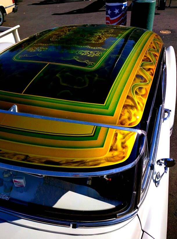 Beautiful paint job kustom paint check out all my for Car painting school
