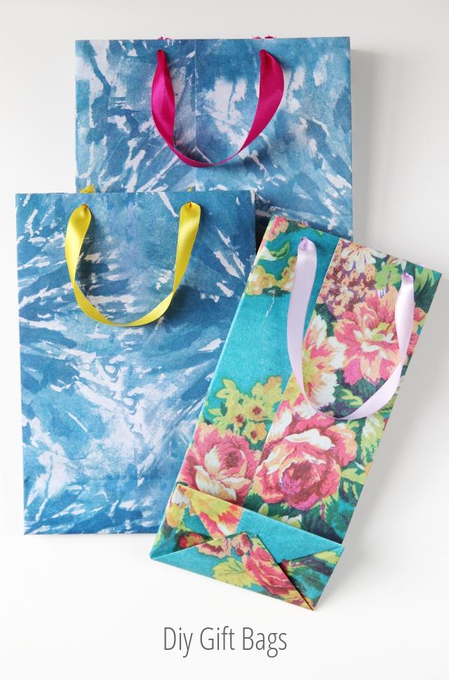 Bolsas de regalo de bricolaje. – Reuniendo belleza