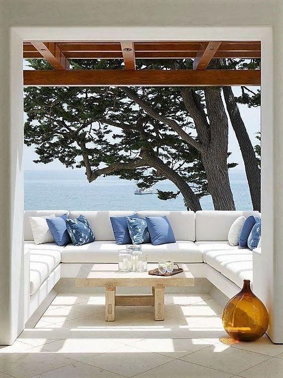 Consejos decoración Terrazas mediterráneas Pinterest Acogedor - como decorar una terraza