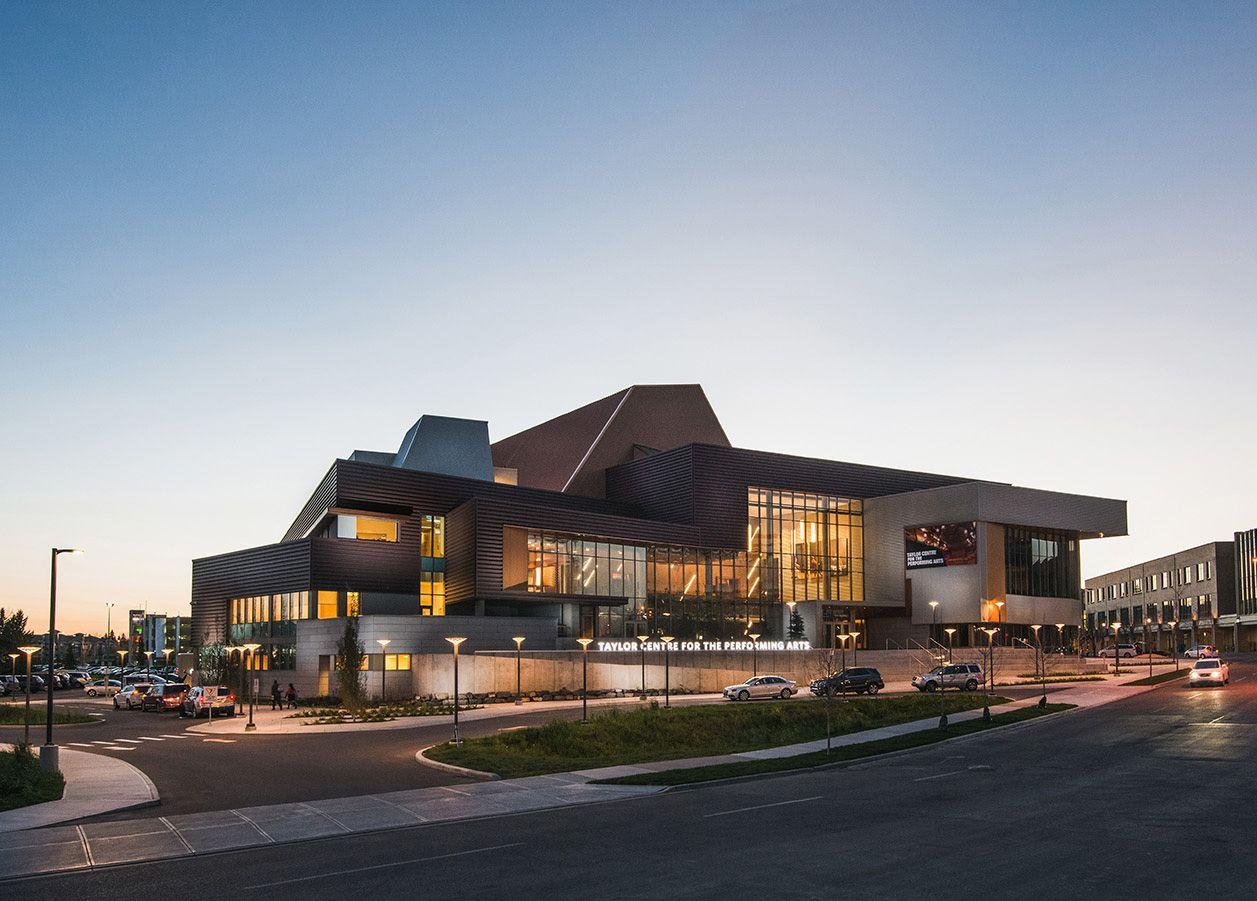 Taylor Centre For The Performing Arts At Mount Royal University