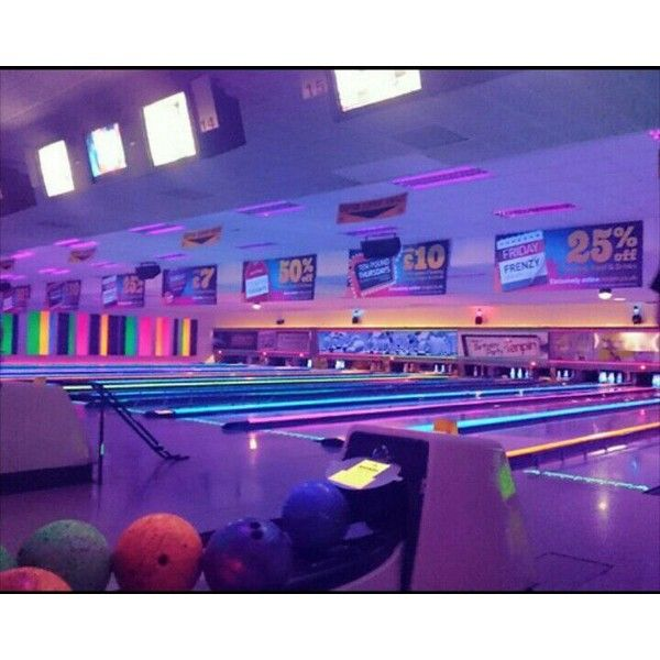 Your Town S Arcade Bowling Alley Who Owns It What Sort Of People Spend Time Here Neon Aesthetic Purple Aesthetic Retro Aesthetic