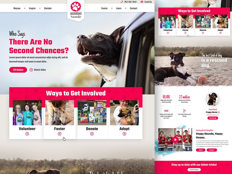 Dog Fostering Website by Mike Delsing