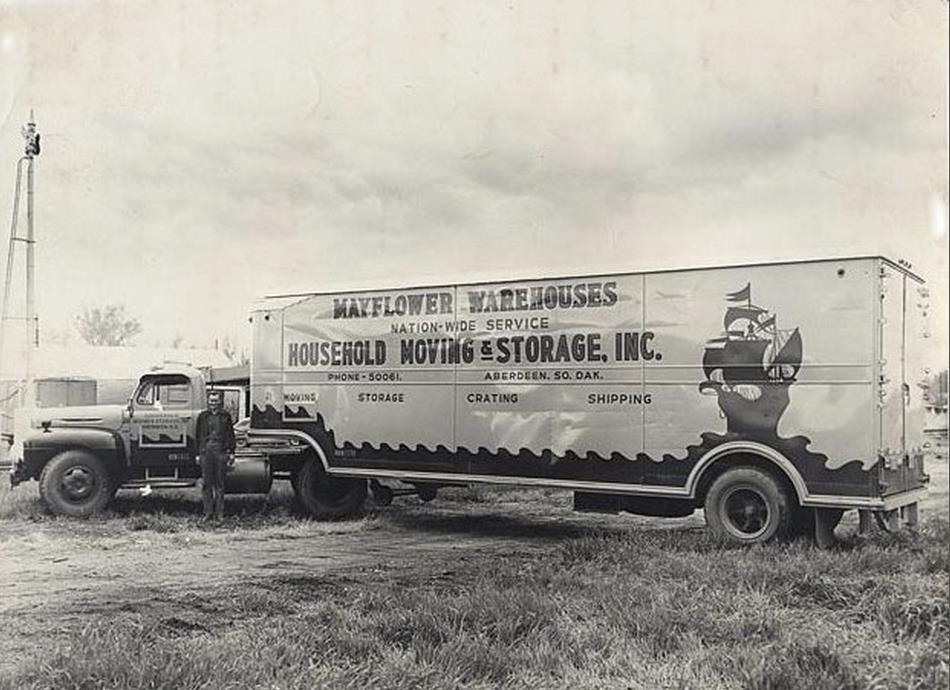 Mayflower Big Trucks Truck And Trailer Moving Van