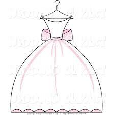 image result for princess dress outline clip art tbm clip art
