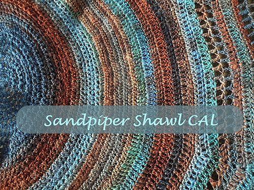 Ravelry: The Sandpiper Shawl pattern by Peggy Semmelmann | Crochet ...