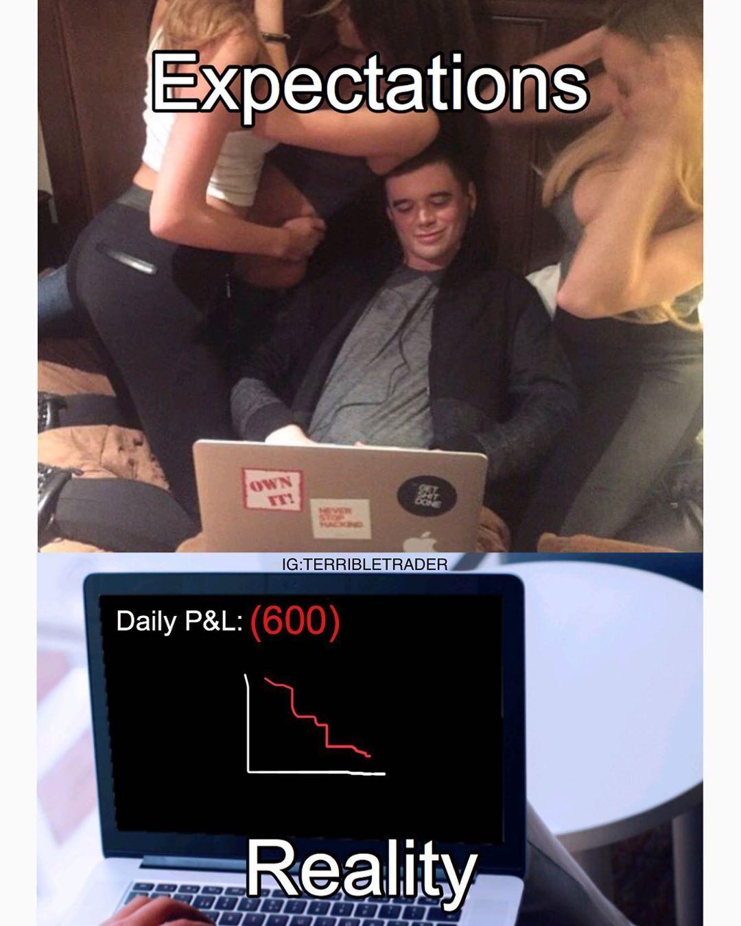 Trading Memes I Finance Humor On Instagram Finance Blog Personal Finance Blogs Finance
