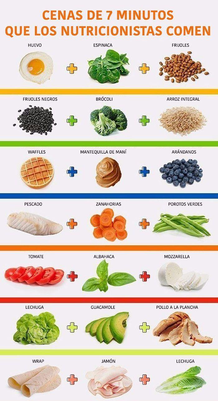 Comida saludable para bajar de peso en un mes