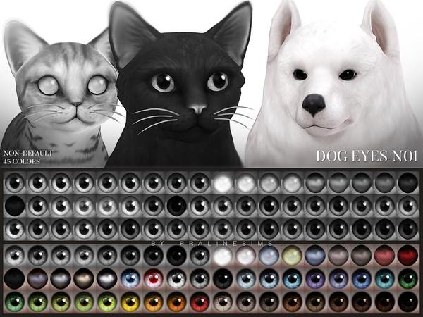 Blahberry Pancake S Studded Collar For Cats And Dogs Sims 4 Pets Sims Pets Sims 4
