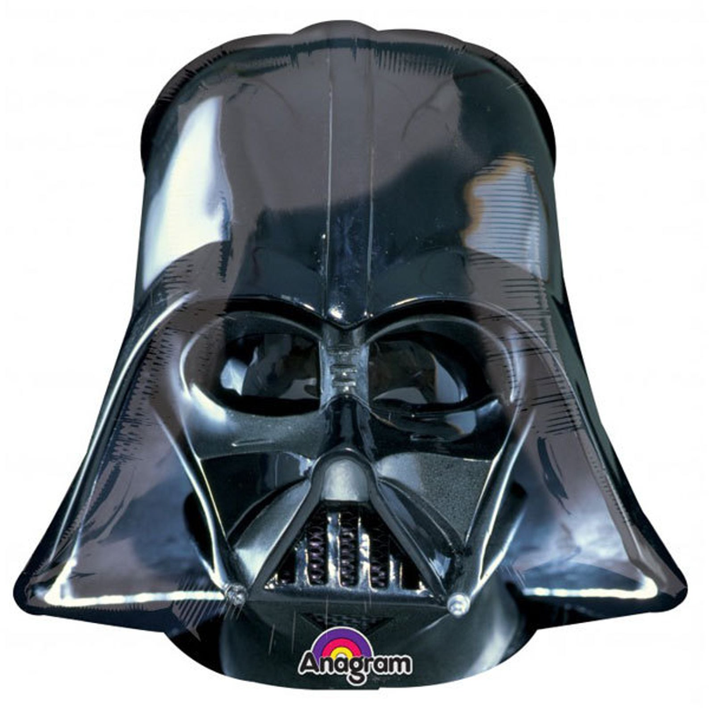 Star Wars Darth Vader Mask Balloon Large Jumbo Mylar Foil Etsy In 2021 Star Wars Balloons Star Wars Party Supplies Star Wars Party