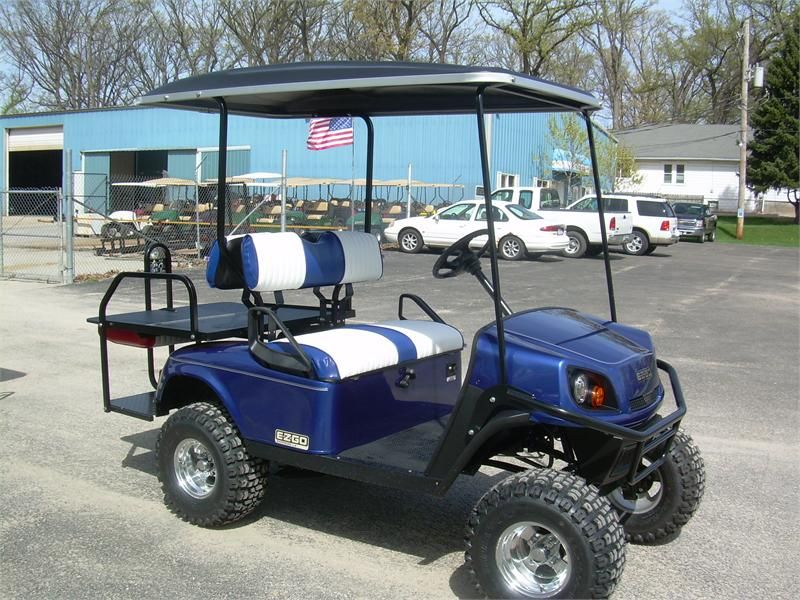 23 best shiny new golf carts images on pinterest golf carts 2012 new ez go l4 gas golf cart in blue new gas powered solutioingenieria Choice Image