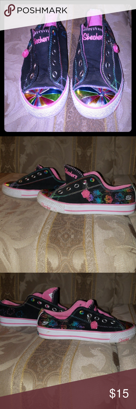 ❤ Girls Sketchers Sneakers size 2