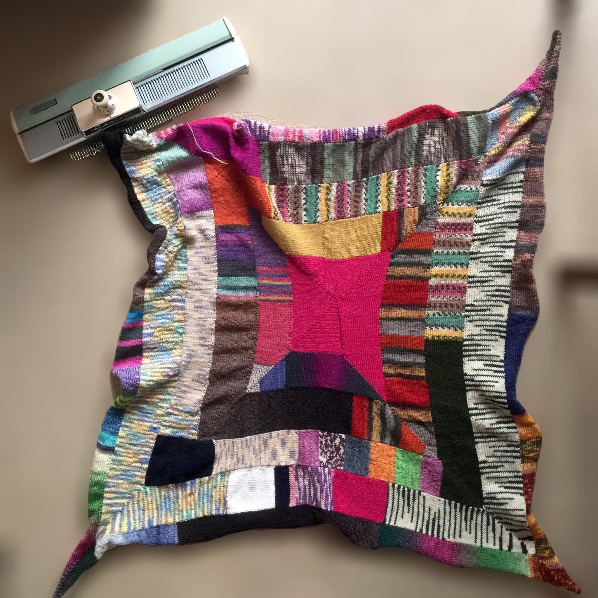 Empisal Mini   maskinstrik   Pinterest   Knitting machine and Crochet