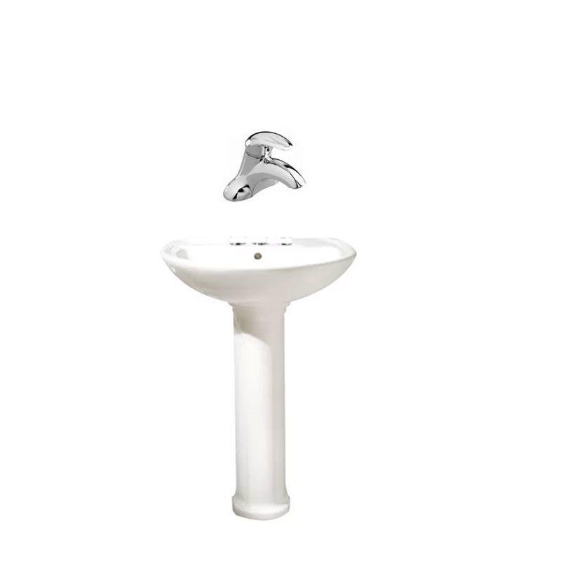 American Standard 0236 999 Pedestal Sink Polished Chrome