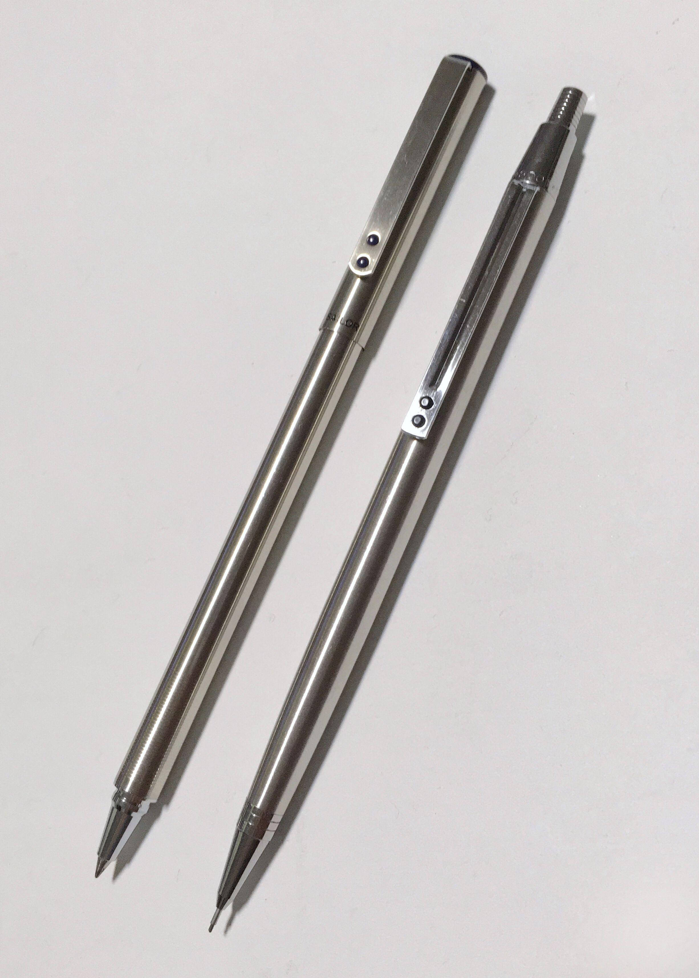 Double Dot Clips Sailor Rollerball Pen Inoxcrom 2000 Mechanical Faber Castell Neo Slim Ballpoint Stylus Stainless Steel Matt Pencil 05mm