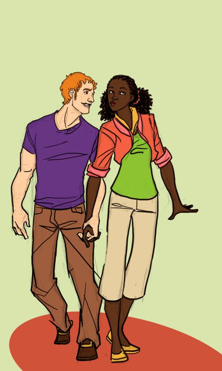 Cartoon interracial site