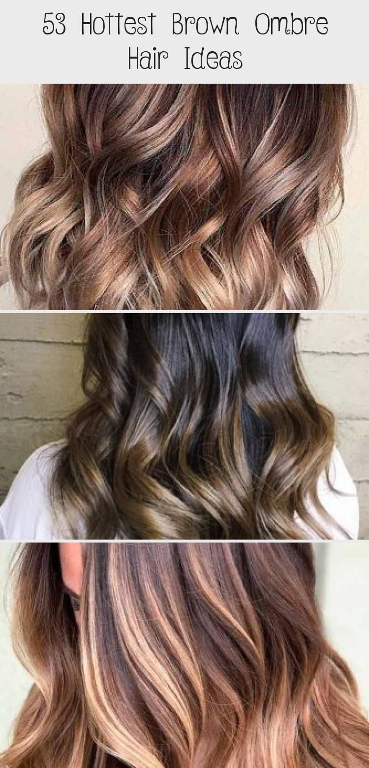 Dark Brown Ombre Hair Style Darkbrown Haircolor Explore From Short To Medium To Long Brown Ombre In 2020 Brown Hair With Highlights Cool Hairstyles Brown Ombre Hair
