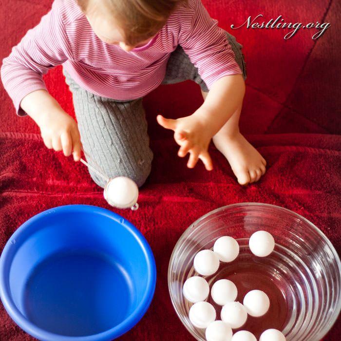 Spielideen für drinnen Wasser - Nestling Sand- und Wasserspiele - wasserspiel fur kinder im garten