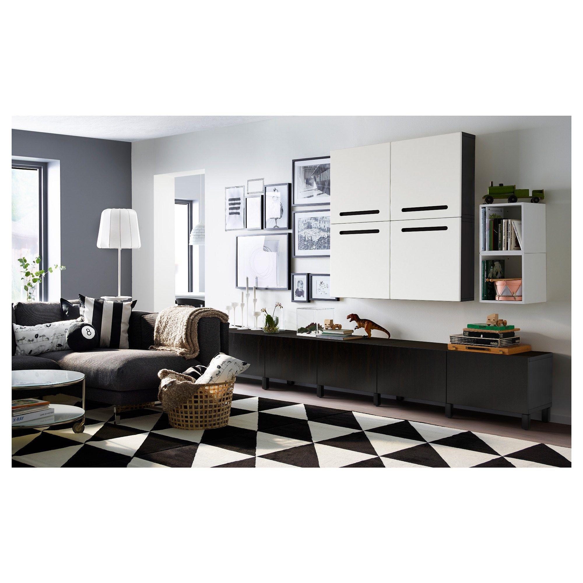 Ikea Living Room Storage Sillerup Hala Siyah Beyaz 200x300 Cm Ikea Ev Tekstili Deco