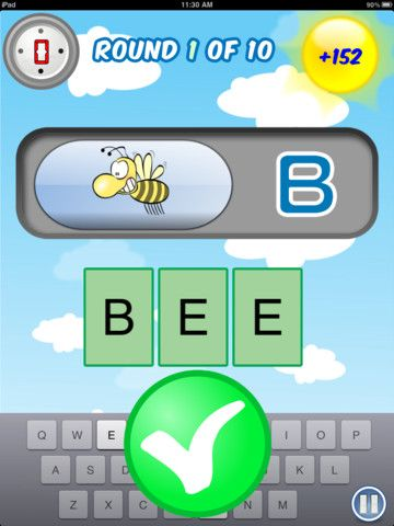 Active Typing Bee is an app for typing and spelling   iPads and Apps