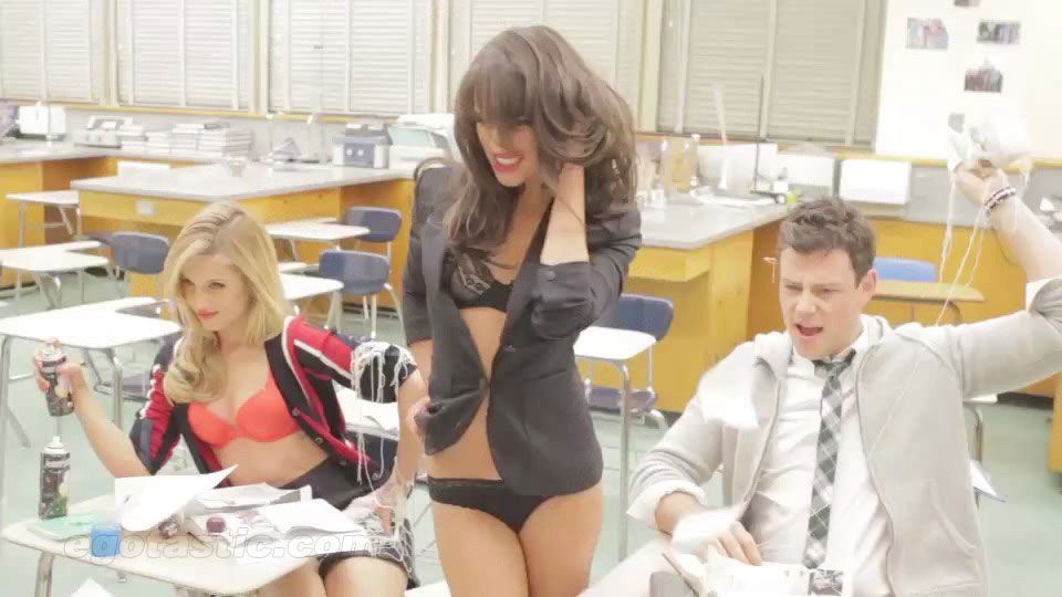 Lea michele hot gq question The