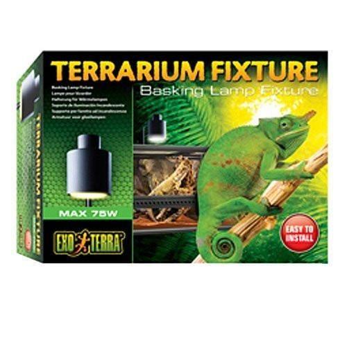Exo Terra PT2240 Terrarium Basking Lamp Fixture