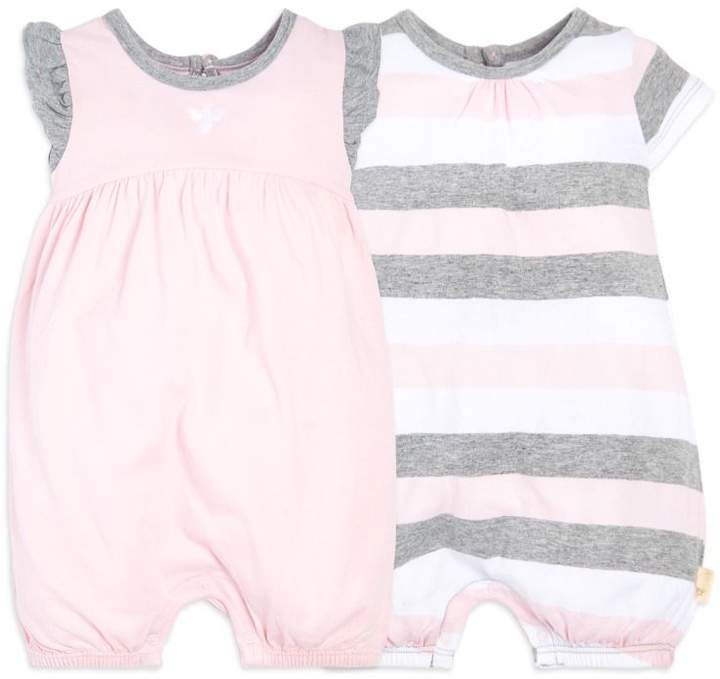 f58da4332517 Burt s Bees Baby 2 Pack Multi Stripe Organic Bubbles  babygirl ...