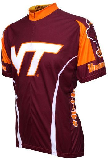 NCAA Men s Adrenaline Promotions Virginia Tech Cycling Jersey  d42aad730