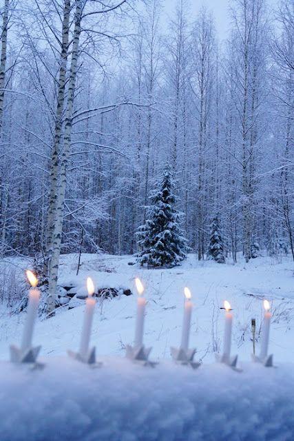 Valkoinen Puutalokoti: Joulu