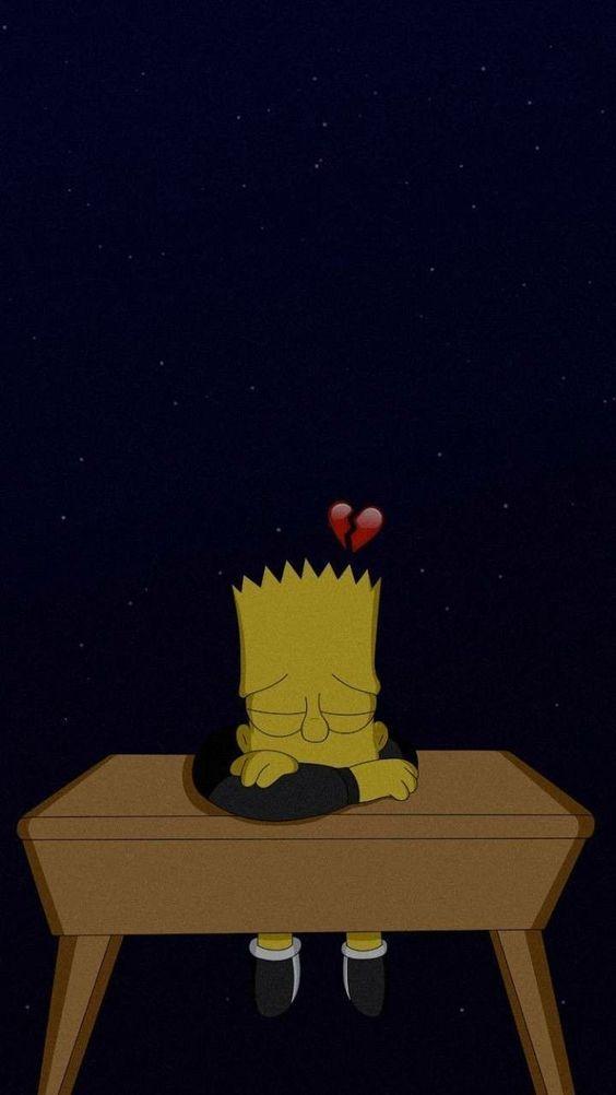 trauriger simpson