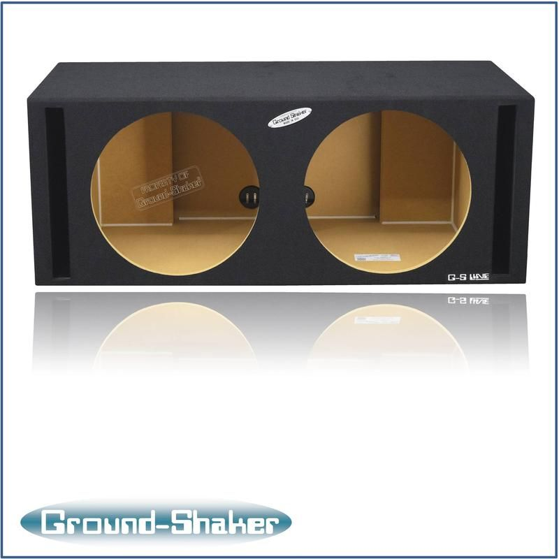 Dual 15 Inch Dual Side Slot Vented Subwoofer Enclosure Subwoofer Enclosure Subwoofer Box Design Subwoofer