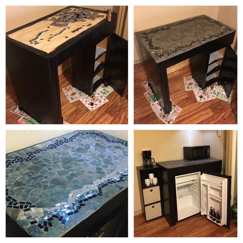DIY Mini Fridge Cabinet. Making A Cabinet For A Mini