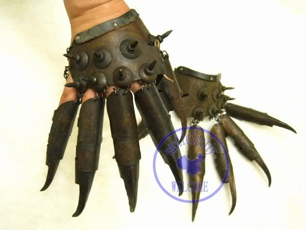 Tiger Claw gloves (hong kong) | manos | Pinterest | Claw ...
