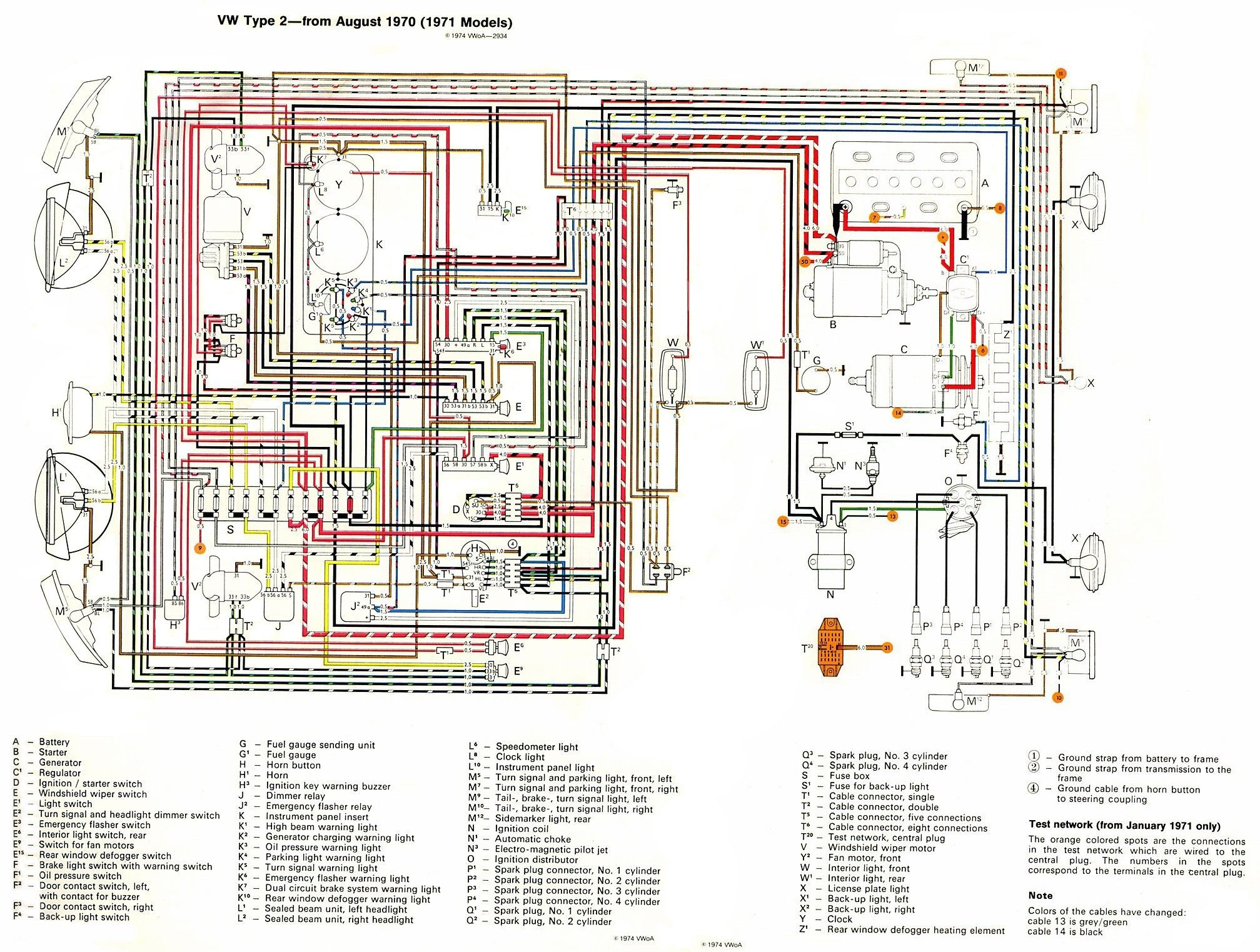 Unique Volkswagen Generator Wiring Diagram Diagram Diagramsample Diagramtemplate Wiringdiagram Diagramchart Worksheet Sistema Electrico Vw Vocho Vw Sedan