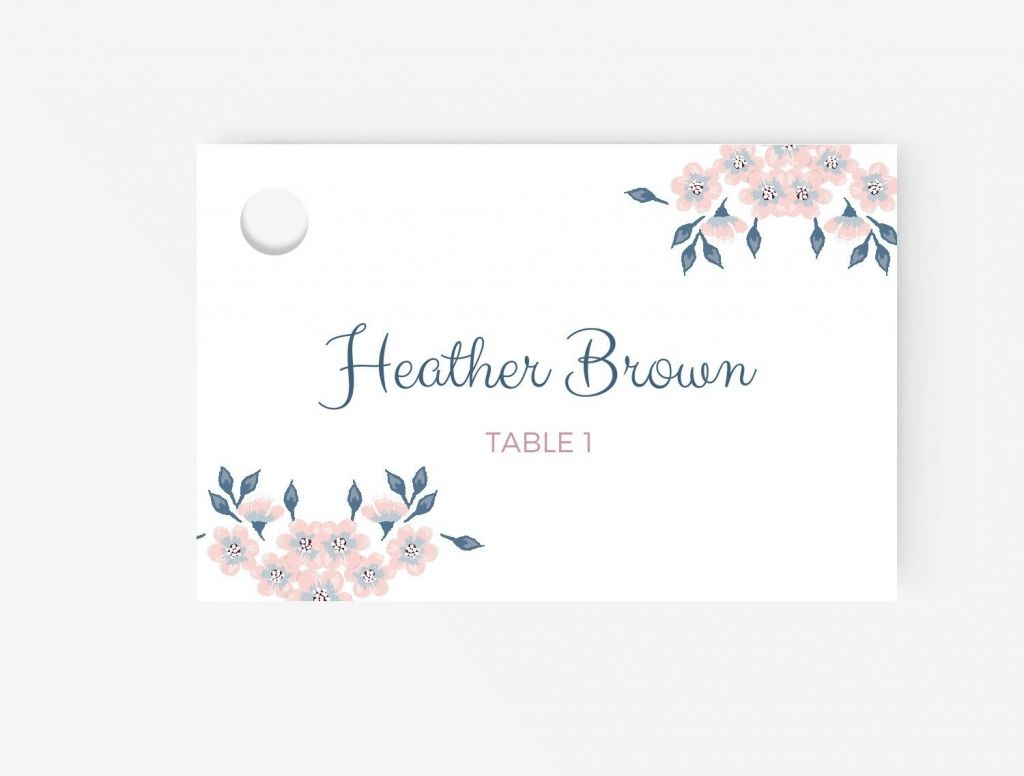 Free Place Card Template Business Plan Template Pertaining To Free Place Card Templ Wedding Place Card Templates Free Place Card Template Place Card Template