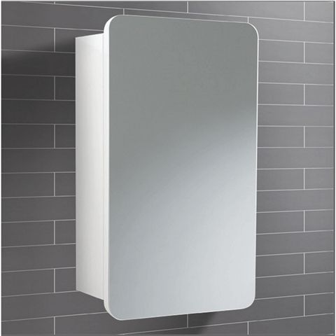 Montana Small Mirror Bathroom Cabinet 35x57cm Perfect For Hanging Over A Basin Or Vanity