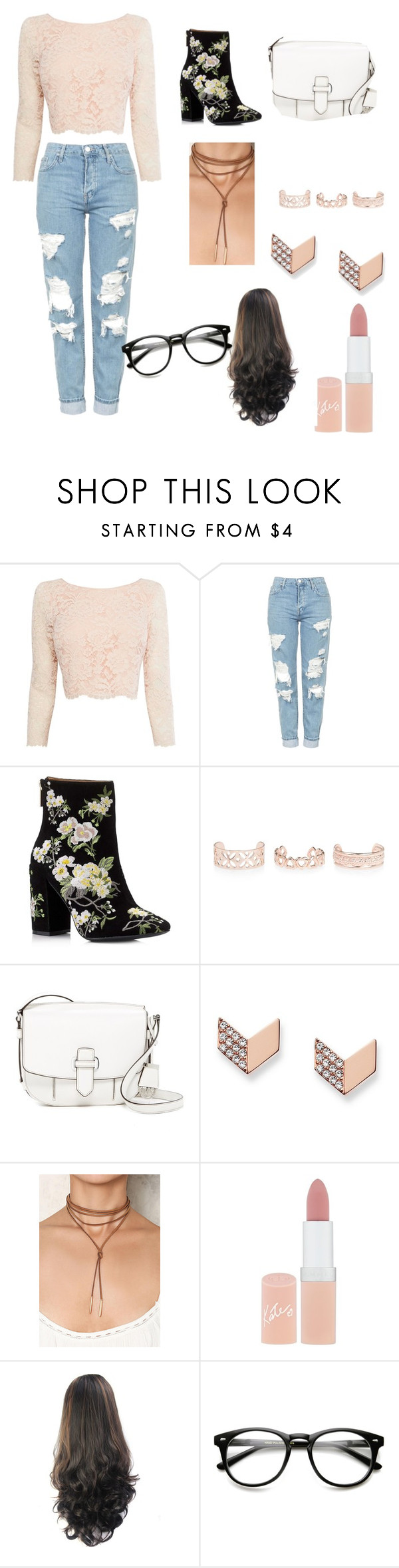 """Untitled #67"" by ldirewolf ❤ liked on Polyvore featuring Coast, Topshop, Miss Selfridge, New Look, MICHAEL Michael Kors, FOSSIL and Rimmel"