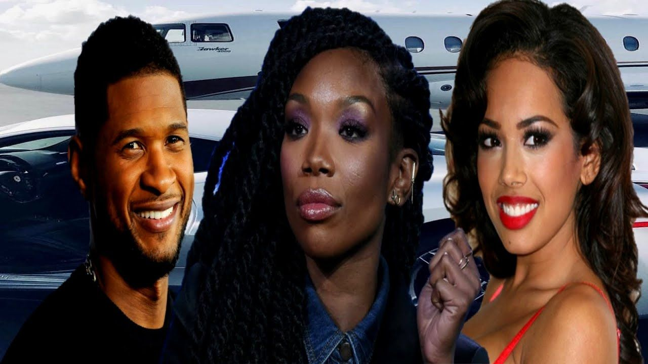 8 Beautiful Women American Singer Usher Raymond Has Dated In 2020 American Singers Usher Raymond Singer
