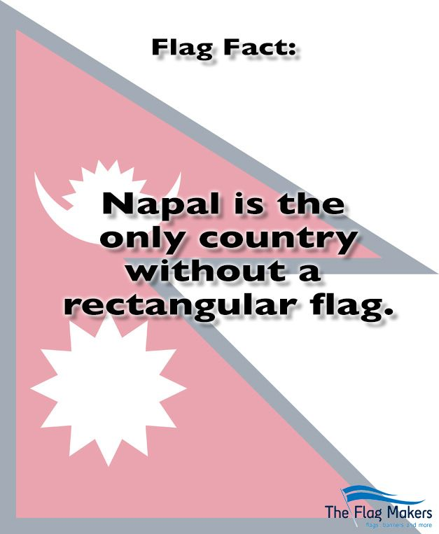 Did You Know Nepal Is The Only Country Without A Rectangular Flag All Other Countries Use Rectangular Flags Design Your Own Flag Custom Banners Custom Flags