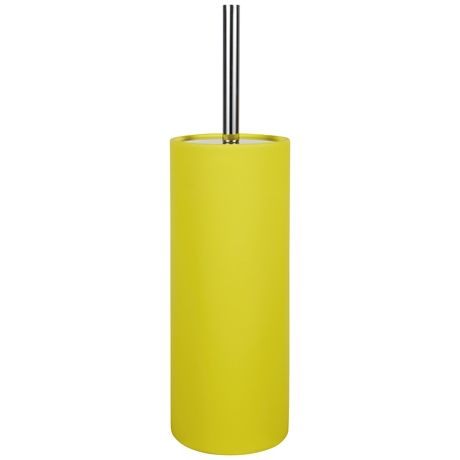 yellow bathroom accessories. Soft Touch Toilet Brush  Holder in Yellow from Freedom Furniture and Homewares