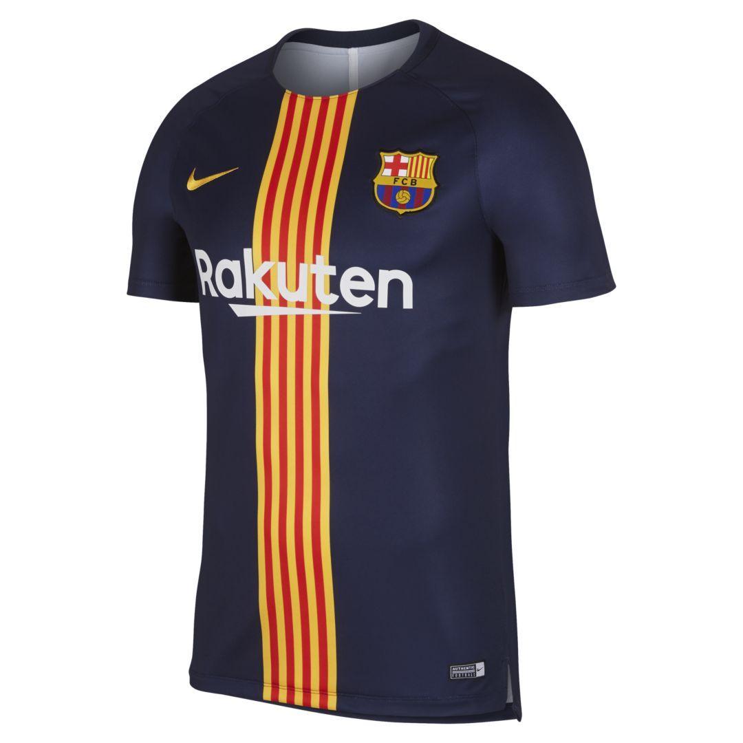2e269c25e Dri-FIT FC Barcelona Squad Men s Short-Sleeve Graphic Soccer Top ...