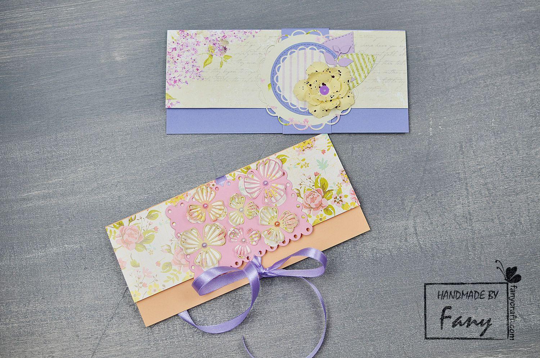 Плик за паричен подарък  money envelopes handmade cards