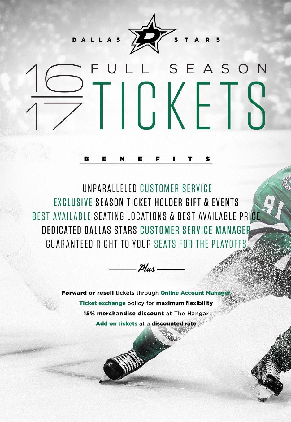 Official Site Dallas Stars Season Tickets Tickets